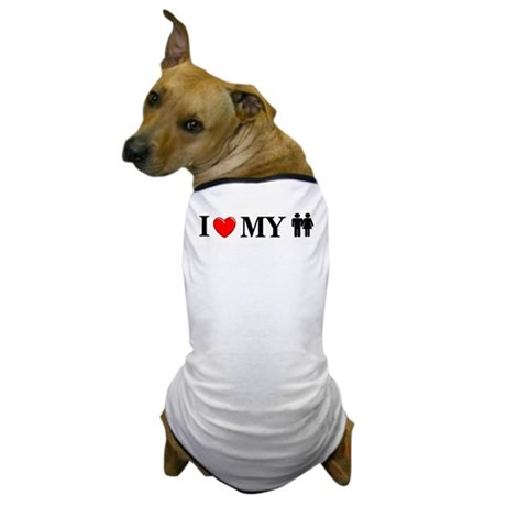 Love My Humans Dog T-Shirt