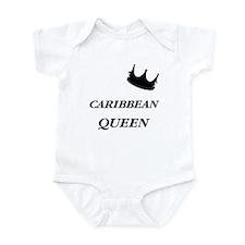 Caribbean Queen Infant Bodysuit