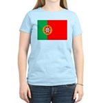 Portuguese Flag of Portugal Women's Light T-Shirt