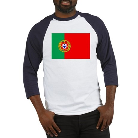 Portuguese Flag of Portugal Baseball Jersey