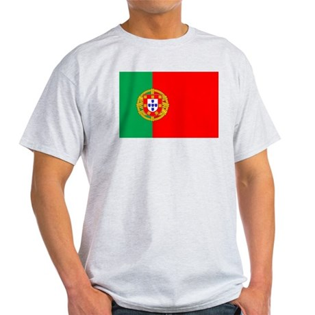 Portuguese Flag of Portugal Light T-Shirt