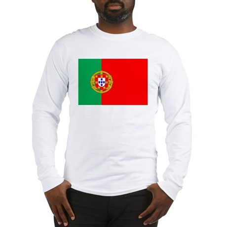 Portuguese Flag of Portugal Long Sleeve T-Shirt