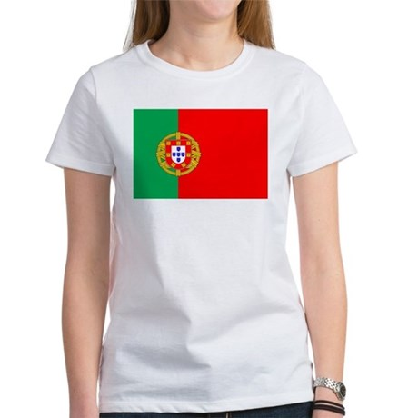 Portuguese Flag of Portugal Women's T-Shirt