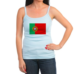 Portuguese Flag of Portugal Jr. Spaghetti Tank