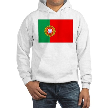 Portuguese Flag of Portugal Hooded Sweatshirt