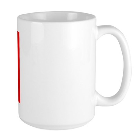 Portuguese Flag of Portugal Large Mug