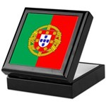 Portuguese Flag of Portugal Keepsake Box