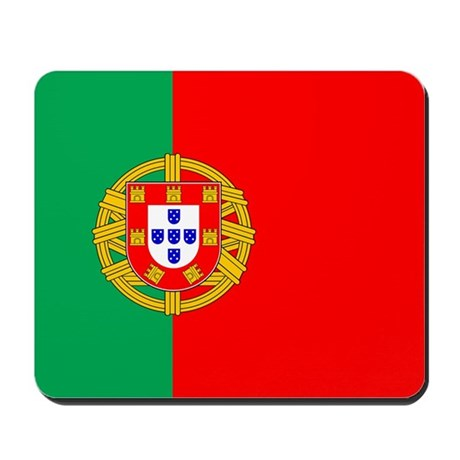 Portuguese Flag of Portugal Mousepad