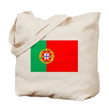 Portuguese Flag of Portugal Tote Bag