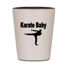 Karate Baby Shot Glass