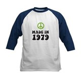Made In 1979 Peace Symbol Tee