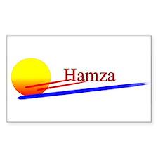 Hamza Rectangle Decal
