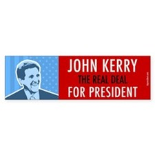 John Kerry for President. (Bumper)