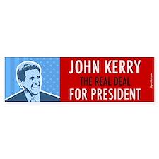 John Kerry for President. (Bumper)