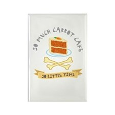 Carrot Cake Lover Rectangle Magnet