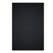Carbon Mesh Pattern Postcards (Package of 8)