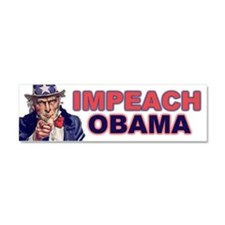 Cute Anti barack obama Car Magnet 10 x 3