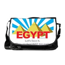 Egypt Peaked Early Messenger Bag