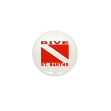 Dive St. Barths Mini Button (100 pack)