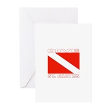 Dive St. Barths Greeting Cards (Pk of 10)
