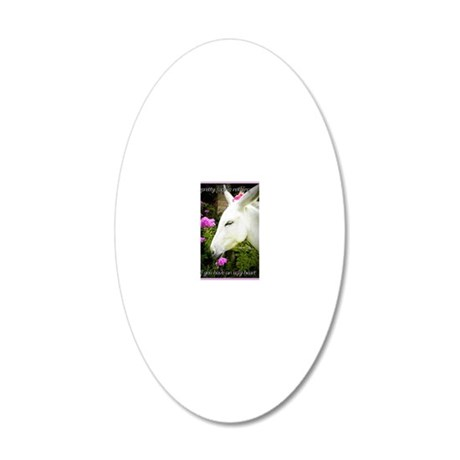Pretty As A Picture 20x12 Oval Wall Decal