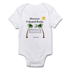Mommy's Volleyball Buddy Infant Bodysuit