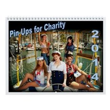 Pin-Ups For Charity Wall Calendar