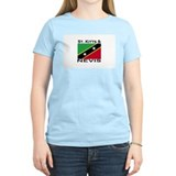St. Kitts & Nevis Flag T-Shirt