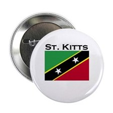 St. Kitts Flag Button