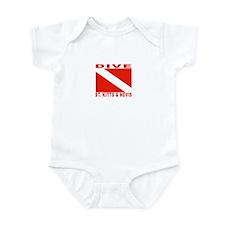 Dive St. Kitts & Nevis Infant Bodysuit