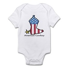 American Cowboy Infant Bodysuit