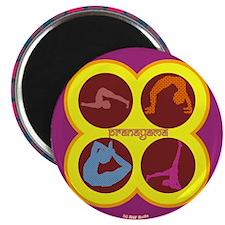 Pranayama Yoga Magnet