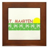 St. Maarten Framed Tile