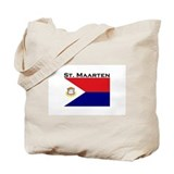 St. Maarten Flag Tote Bag