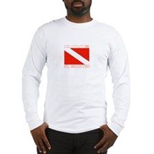Dive St. Maarten Long Sleeve T-Shirt