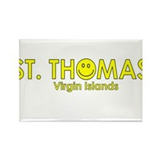 St. Thomas, USVI Rectangle Magnet