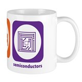 Eat Sleep Semiconductors Small Mug