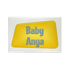 Baby Anya Rectangle Magnet (100 pack)
