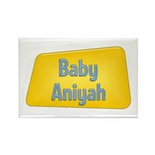 Baby Aniyah Rectangle Magnet