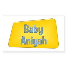 Baby Aniyah Rectangle Decal
