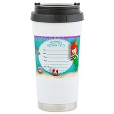 Mermaid Invite Travel Mug