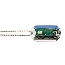 garbage truck love Dog Tags