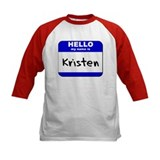 hello my name is kristen Tee