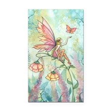 Free Fairy Fantasy Art Rectangle Car Magnet