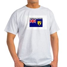 Turks & Caicos Flag T-Shirt