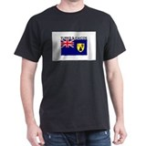 Turks & Caicos Flag  T-Shirt