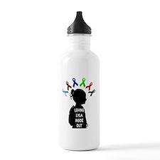 Loving Lyla Inside Out Water Bottle