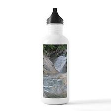 Natural Bridge Waterfa Water Bottle