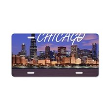 chicago 2014 Aluminum License Plate