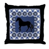 Paso BL Throw Pillow